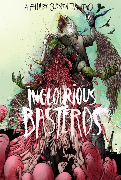 Alex Pardee poster - Inglorious B*stards