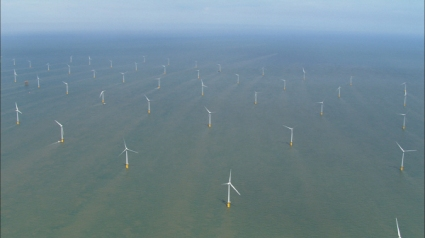 Windfarm in the North Sea
